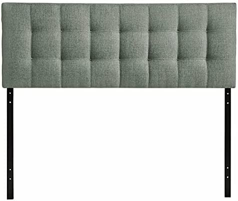 ADHW King Tufted Panel It is very popular Gray in Now on sale Headboard
