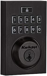 Kwikset 99130-009-R 913 SmartCode Contemporary Electronic Deadbolt Featuring SmartKey in Venetian Bronze (Renewed)