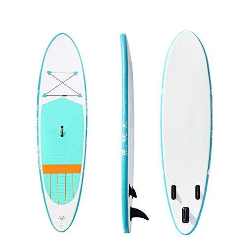MROSW Aufblasbare Sup Board Bekleidung Surfbrett Sup Surfen Brett Surfbrett 10'X30 X4 Stand Up Paddle Board Paddleboard