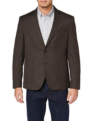 Amazon-Marke: find. Herren Blazer, Braun (Brown), S