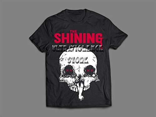 Camiseta/Camisa Masculina O Iluminado Kubrick Stephen King Tamanho:XG;Cor:Preto