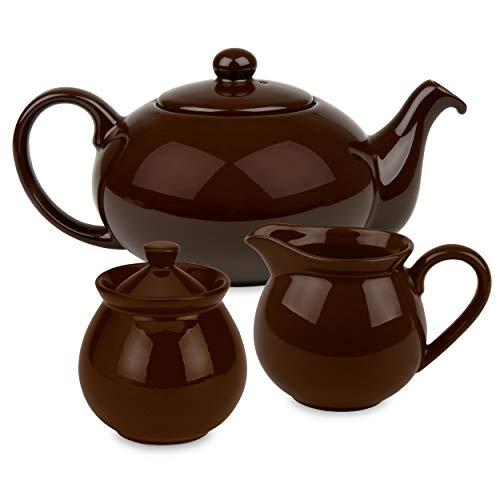 Waechtersbach Fun Factory Tea Set, Chocolate