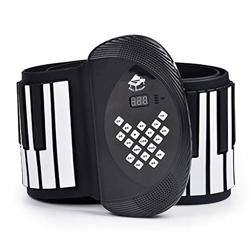 Lowest Prices! Pianos Musical Instruments Hand Roll 88 Keys Folding Keyboard Hand Roll Portable Thic...