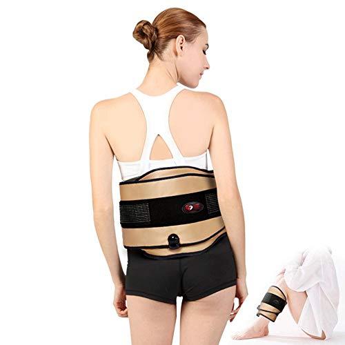 Rückenunterstützung Gürtel für Rückenschmerzen, Lendenwirbelstützkissen, für Weight Loss Relieve Lendenschmerzen Warm Bauch Uterus Far Moxibustion Heizung