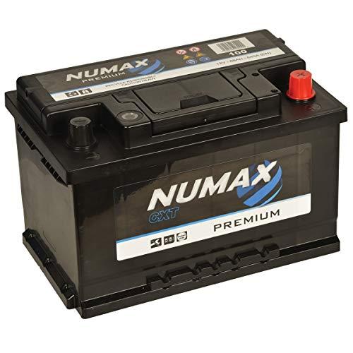 Numax Premium 100 Batterie Voitures, 12V 70Ah 640 Amps (En)