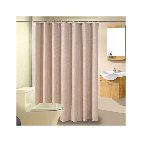 AnazoZ douchegordijn, waterdicht, anti-schimmel, milieuvriendelijk, wasbaar, met 12 douchegordijnringen, voor badkamer