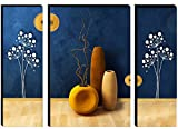 SIZE:- 18 X 6 inch,18 X 12 inch, 18 X 6 inch About this item PACKAGE CONTENTS: Set of 3 Beautiful Flower Matte Textured Self Addeshive UV Coated 3D MDF Framed Painting With A Special Free Gift Made By Local Artisons Of India #MADE IN INDIA # VOCAL FO...