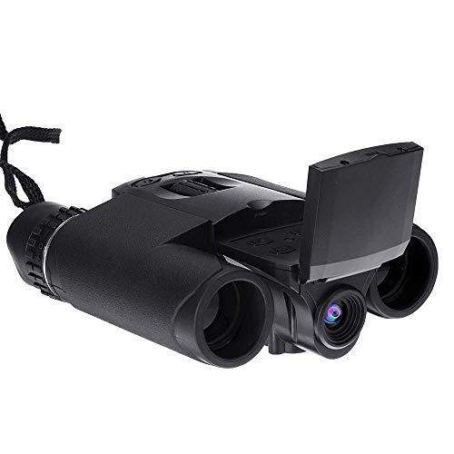 Binoculares de cámara Digital 12X32 Telescopio de Alta definición para Exteriores Binoculares de grabación de Video multifuncionales 2 Pantalla LCD