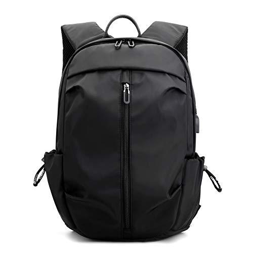 Baruyo Laptop-rugzak voor laptops met 39,6 cm (15,6 inch), met USB-aansluiting, waterdicht, voor daypack