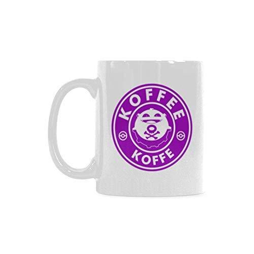 Funny Gift Koffing Coffee Coffee Mug Taza de té Material de cerámica Tazas Blanco 11oz