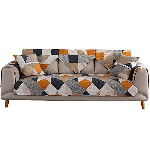 Hybad Grote hoekbankovertrek, universeel, katoen, 1/2/3/4/5/6, sofa, slipcover, wear-resistent, quilted bank, dikke sofabeschermer