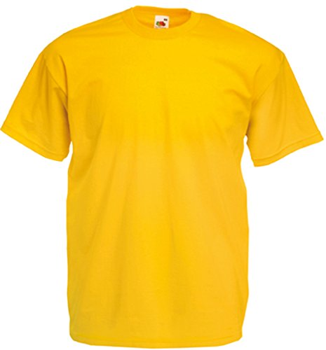 Fruit of the Loom Valueweight T-Shirt Sonnenblumengelb XXL