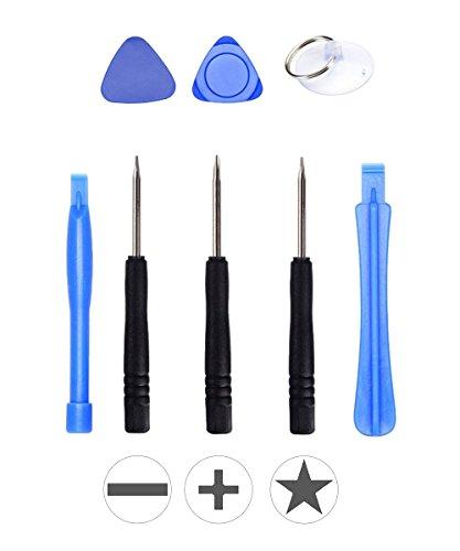 wortek Universal Reparatur Werkzeugset Set Display für Smartphones, Handys, PCs, Konsolen, Tablets, eReader & eBooks