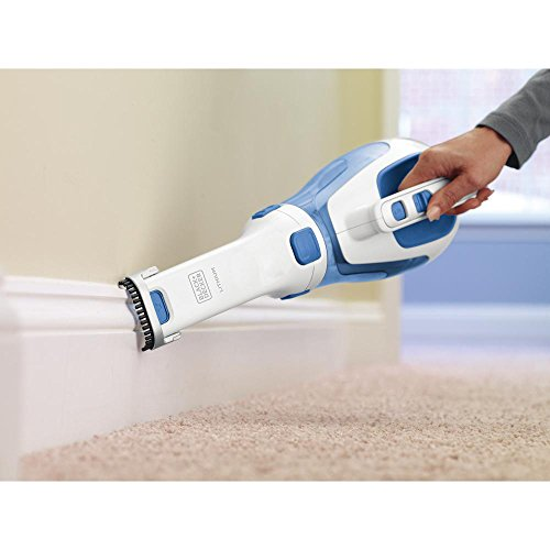BLACK + DECKER HHVI320JR02 Dustbuster Cordless Lithium Hand Vacuum, Magic Blue