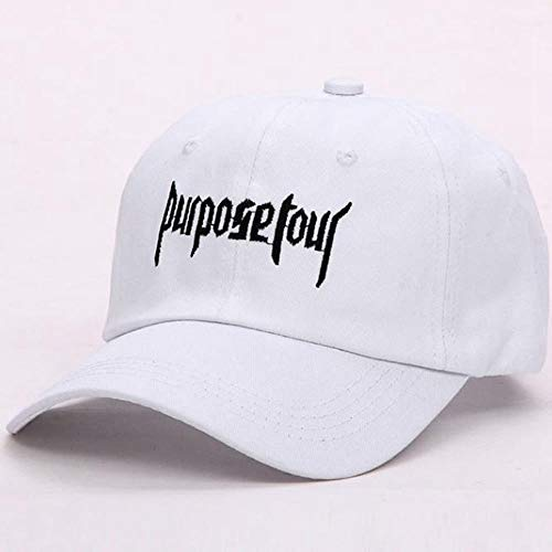 YZCX Vintage Cap Justin Bieber Hoed Hoge Straat Dark Tij...