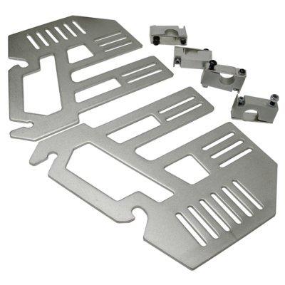 Adapterplatte f. Schiebehilfe TOGO incl. 4 Klemmhaltern(Paar), Rollstuhl-Zubehör