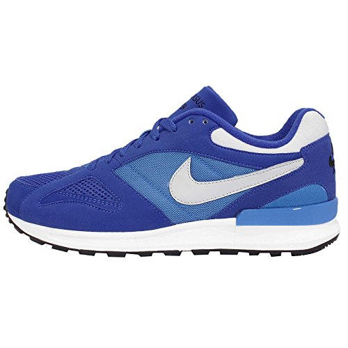 NIKE Air Pegasus New Racer Mens Trainers 705172 Sneakers Shoes (US 9, Lyon Blue Neutral Grey 401)