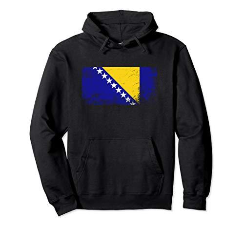 Bosnien und Herzegowina Flagge für Männer Frauen und Kinder Pullover Hoodie