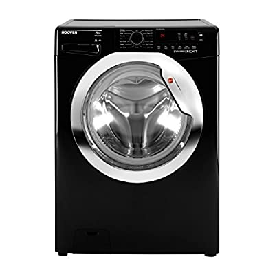 Hoover Washing Machine 8 Kg Load 1500rpm Spin 12 Programmes A Washing Performance (Black)