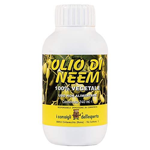 i Consigli dell Esperto Olio di NEEM ad Uso Non Alimentare, Flacone 240 ml