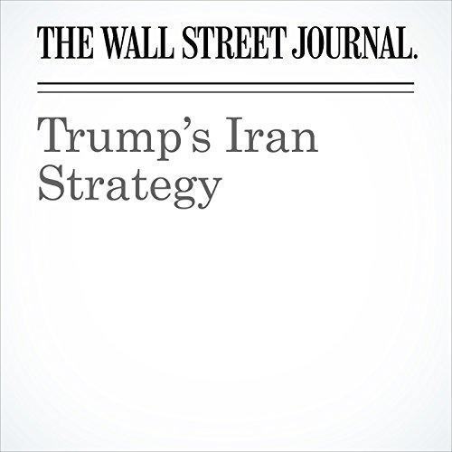 Trump's Iran Strategy copertina