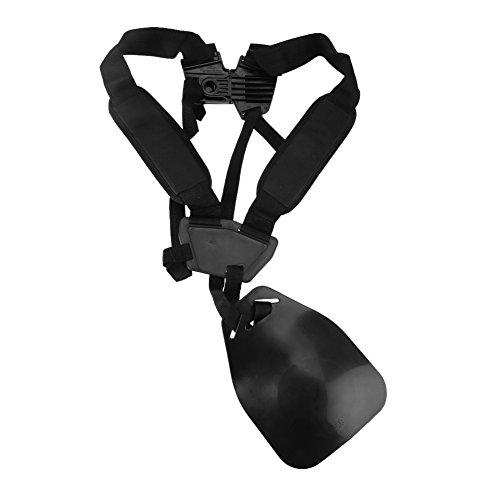 Fdit Imbracatura per Tosaerba Regolabile Doppia Tracolla Regolabile tagliaerba a Spalla Cintura in Nylon per decespugliatore Giardino