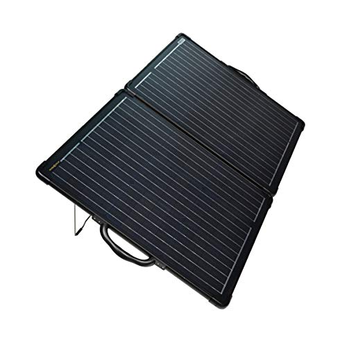enjoysolar® Ultra light Solarkoffer 100W mit EPEVER Wasserdicht Laderegler Tracer2610BP