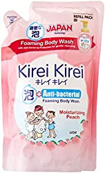Kirei Kirei Anti-bacterial Foaming Body Wash Refill, Moisturizing Peach, 600ml