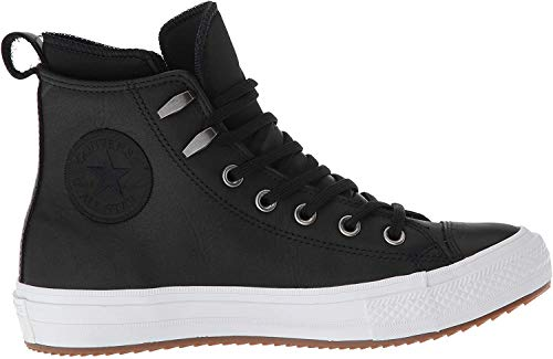 Converse 557944C ,CHUCK TAYLOR ALL STAR WP BOOT , Damen Hohe Sneaker, Schwarz (Black/Black/White), 37.5 EU (5 UK)