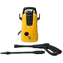 スマイル(SMILE) パワフル1400W 高圧洗浄機 5m電源コード式 軽量...