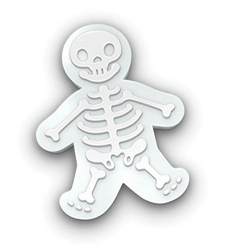 KAISHANE Halloween Skull Gingerbread Men Cookie Cutters Fondant Biscuit Molds
