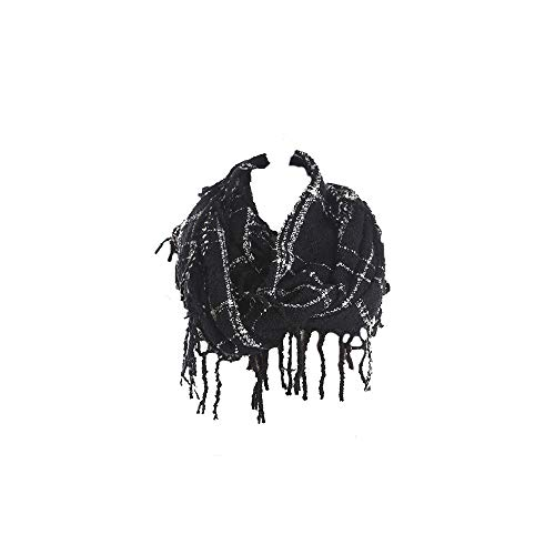 TTD Weicher Winter warm chunky Strick Cowl Infinity Loop Schal passende Beanies