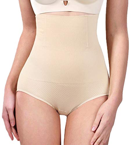AtRenty Tummy Control Shapewear Shaper Bodysuit Slimming High Waist Panties Seamless Briefs for Womens