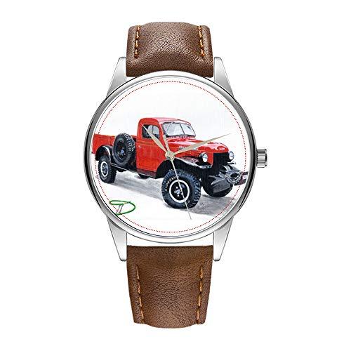 Reloj de Pulsera para Hombre de Cuarzo marrón Cortex, Reloj de Cuarzo...