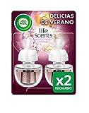 Air Wick Ambientador Eléctrico Recambio Duplo Delicias de Verano, 2 x 19 ml - Total: 38 ml