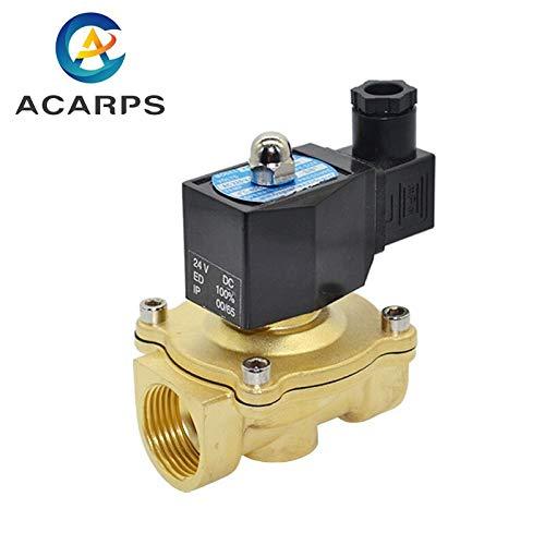 SHUGJAN 3/8' 1/2' 3/4' 1' 2' normalmente cerrada la válvula de agua de la válvula de solenoide IP65 completamente cerrado bobina AC220V DC12V DC24V Accesorios de bricolaje herramientas de reparación