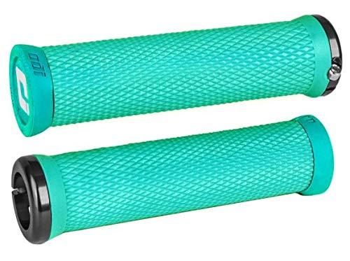 Odi Elite Motion Grips - Mint Green/Locking Clamp Handle Bar Part Mountain Biking Bike MTB Riding Ride Trail Enduro Downhill Hand Comfort Handlebar Rubber DH Accessories