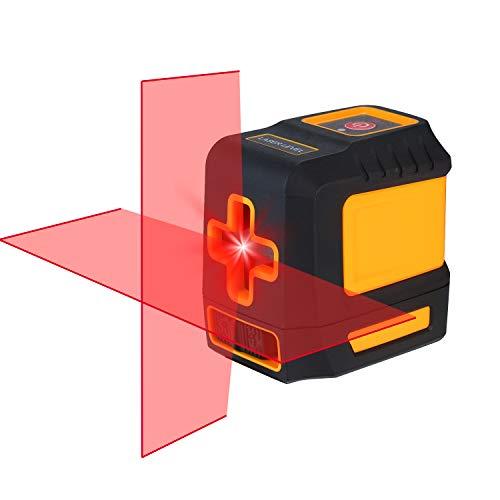 Nivel Láser Verde/Rojo KKmoon Nivel láser Línea transversal horizontal y vertical profesional...