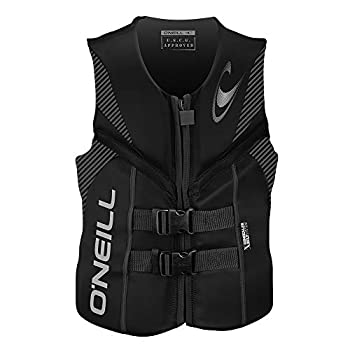 O Neill Men s Reactor USCG Life Vest Black/Black/Black,XX-Large