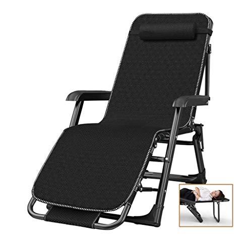 Schwerelose Stühle, atmungsaktiv und bequem, Verstellbarer tragbarer Patio Lounge Liegestuhl mit Stützkissen für Hinterhofdeck Poolside Beach, Stütze 330lbs