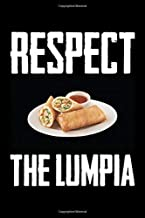 """Respect The Lumpia: Filipino Recipe Notebook 