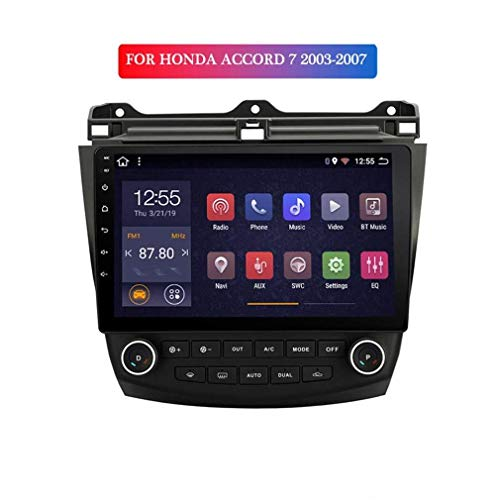 2G RAM 32G ROM 10.1inch Android 8.1 Car GPS Navigation For Honda Accord 7 2003-2007 with Stereo Audio Radio Video, Am FM RDS Auto Radio,Quad Cores