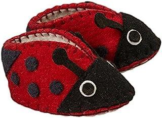 Amazon.com Zooties Baby Girl`s Wool Baby Booties