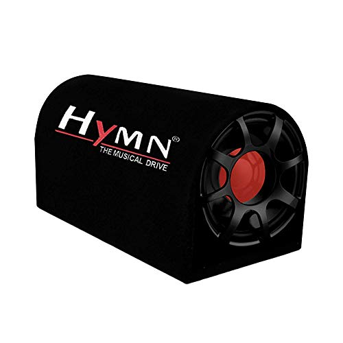 Hymn GMA_HY-1060 D- shape ACTIVE ROUND 4400 Watt Subwoofer (Black)