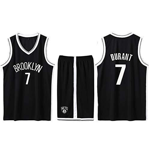 Maglia n. 11 di Kevin Durant Brooklyn Nets, divisa da basket, felpa con cappuccio, traspirante...