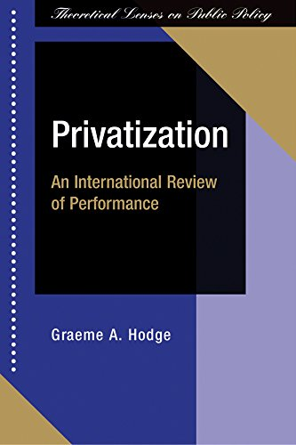 Image OfPrivatization: An International Review Of Performance (English Edition)