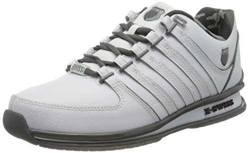 K-Swiss Mens RINZLER Sneaker, WHT/SMOKEDPEARL/CAMO