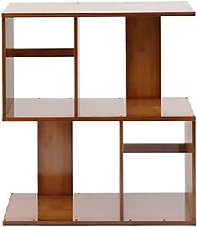 Strong Sturdy bookshelf Floor-standing bookcase, free combination small shelf rack Floor-standing bookshelf (Size : 3-Tier...