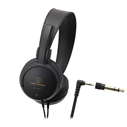 audio-technica 楽器用モニターヘッドホン ATH-EP100 変換プラグ付属 / L型コネクタ / ケーブル長2.0m
