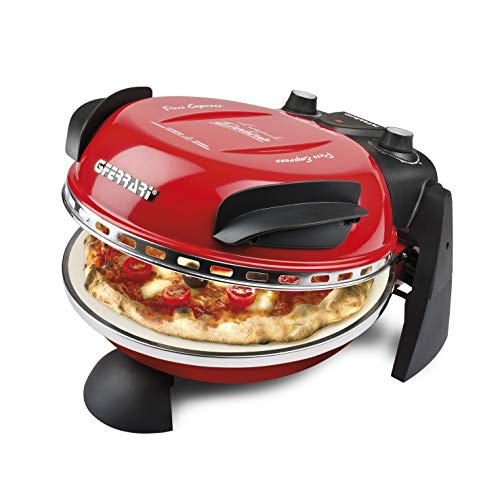 G3 Ferrari G10006 Delizia Pizza Oven - 1200W in Red